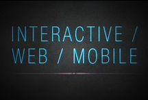 Interactive / Web / Mobile / App / Inspirational ui, ux, web, interactive, mobile and app design.