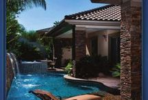 Home Decor ~ Pools and Water Features / by Jamie