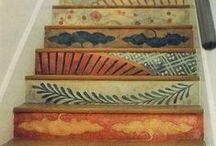 wooden floors & walls