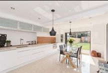 Impressive Kitchens / Images of stunning and impressive kitchens available in scottfraser properties for sale and to let in Oxford, Witney and surrounding villages