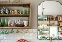 For the Home / Always inspired by antiques, vintage, warmth, colors, light and windows. / by Afton Welch
