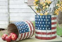Summertime / Patriotic / Fourth of july, party ideas, patriotic treats, DIY patriotic decor, outdoor entertaining, barbecue, backyard landscaping and more.