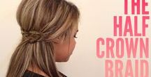 Hair, Makeup & Nails / I have compiled this collection of hair tutorials to inspire me and I hope it does you too.  Braids, Buns, Curls, Updo's, Wedding Hair, Prom Hair, Beachy Waves and more.... Including Makeup and Beauty Tutorials too!