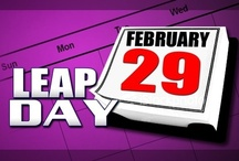 Leap Year - February 29th / by S Cooper