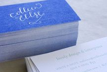 Business Cards / by Emily Teufel