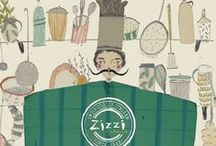 Fresh Talent / From menu covers to covering restaurant walls, our fresh talent designers have made their mark on Zizzi