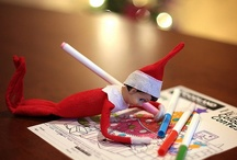 One Guess what santa delivered...Elf on shelf / by Full of Great Ideas