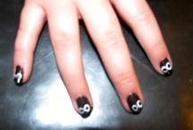 Halloween Hair & Nails