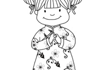 Chinese New Year Coloring Pages / by S Cooper