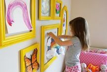 Girls Bedroom Ideas / With a family of four girls, I need all the ideas I can get for their bedrooms. This board has both classy and cute ideas for decorating girls bedrooms.