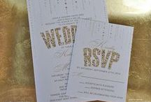 Wedding Invitations & Inspiration / A collection of stylish and modern wedding invitations and ideas for a beautiful wedding.