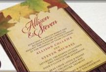 Rustic Wedding Ideas & Invitations / A collection of ideas & invitation designs for a rustic wedding.