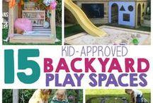 Back-Yard Entertaining / Back Yard BBQ's, games and decor.