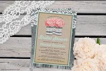 Bridal Showers / A collection of bridal shower invitations & ideas.