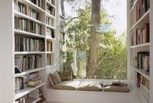 books and nooks / cozy spaces / by Beth O'Donnell