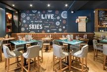 Zizzi Nottingham / Just ½ a mile from the nearest transport link our Nottingham restaurant is a perfect stop after a romp around Sherwood Forest. The spacious restaurant is located just off the Old Market Square, within walking distance from the Royal Concert Hall and Ice Arena. With an open kitchen and some great food and service, the atmosphere is just right for an evening out or any special occasion.