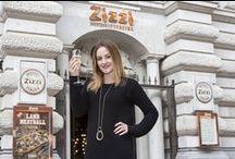 Paula Lane visits Zizzi / Paula Lane from Coronation Street visits Zizzi Manchester King Street to celebrate the new autumn menu!