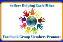 eBay Sellers Helping Each Other Promote / We are eBay seller. We are a Facebook group for sellers - eBay Sellers Helping Each Other - https://www.facebook.com/groups/eBaySellersHelpingEachOther/ Join us for Learning and Tips.  This board is for other eBay Sellers Helping Each Other members to share and promote their items.