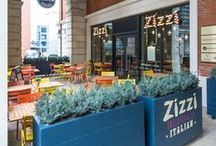 Zizzi Birmingham Brindleyplace / Zizzi Birmingham Brindleyplace is located in the heart of the city, within the well-known business and leisure district that is Brindley place. The vibrant estate is packed with exciting attractions from the National SEA LIFE Centre to IKON art gallery, a theatre and the neighbouring ICC and NIA exhibition and music venues so there's plenty to do in the area and we're the perfect place for a business meeting, after a shopping break with friends & family or before heading to an event!
