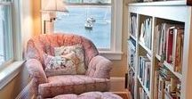 Decorating: Mini Library / Cozy spots to curl up with a good book