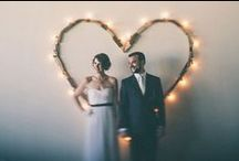 LED Wedding Decor / Incorporating LED lights into your wedding decor is essential for a magical evening with loved ones! Check out these fabulous DIY ideas...