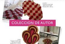 COLECCION DE AUTOR / Conoce las colección de alfombras que desarrollamos con Artistas Argentinas . Podes ver mas en www.designcarpets.com.ar