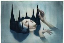 Art/3Ddesign/Illustration / Artwork that I love and that inspires me. / by Kate Kensington
