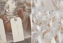 Mason Jars / Check out all of the ways that you can use Mason Jars at your next event.