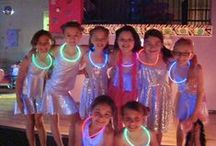 Party Ideas For Kids / Party Ideas For Kids call for lights! We incorporate our LED light up party favors in here, plus DIY ideas that just plain COOL.