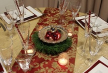 Holiday Table Top Inspiration / This holiday season the Party Reflections staff has transformed the showroom into six fabulous party inspirations!  Let us know what you think!
