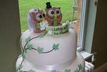 Cool Cakes for Weddings / Bet these taste just as good as they look.