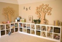 Organize: Kids / Organization ideas for kid spaces and things