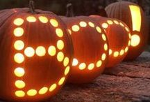 Halloween crafts and treats / DIY projects, recipes and more for Halloween.