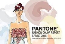 """2015 Spring Pantone Color Trends /  """"En Plein Air"""" from Leatrice Eiseman Executive Director, Pantone Color Institute®  This season there is a move toward the cooler and softer side of the color spectrum. An eclectic, ethereal mix of understated brights, pale pastels and nature-like neutrals take center stage as designers draw from daydreams of simpler times. Remembrances of retro delights, folkloric and floral art, and the magical worlds of tropical landscapes restore a sense of well-being as we head into warmer months."""