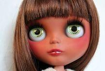 CaNeLa / Inspiration board for the customization of my Heather Sky Blythe doll