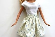 DIY Barbie clothes