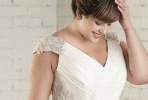 Plus Size Beauty Bride / Plus Size Wedding Dresses: It's not easy to find perfect plus size wedding dresses for curvy brides, some dresses seem to look stunning on magazines, but in fact it may not fit you well. To find a gorgeous and fitted wedding dress are the biggest obstacles for plus size bride. Confident and beautiful, plus size brides rock the wedding dress. Have own ideas about your dress? Make it real with affordable price. Send us your idea today. bit.ly/custom-dress
