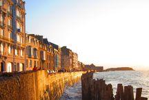 Saint-Malo les pieds dans l'eau