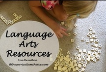 Language Arts/Grammar / resources for #homeschool language arts and grammar. #homeschool #reviews