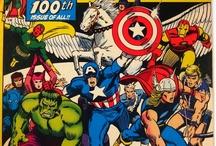 Avengers / http://tinyurl.com/ebaymadandcracked / by Jean De La Garza