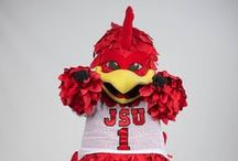 The Bird is the Word / Cocky is Jacksonville State University's beloved bird! We love to see all of the fun things Cocky gets into so tag us in any pictures! http://www.jsu.edu