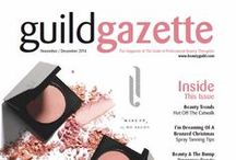 Covers / Covers from the Guild Gazette, the Guild's glossy bi-monthly magazine