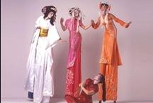 Stilt Walking / Images of Stilt Walker Costumes.  Stilt World!