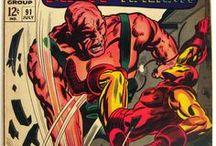 Marvel Mixed Super-Heroes / http://tinyurl.com/ebaymadandcracked / by Jean De La Garza