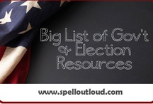 Government & Elections / #homeschool resources for government and elections studies