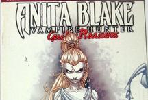 Anita Blake: Vampire Hunter / http://tinyurl.com/ebaymadandcracked / by Jean De La Garza
