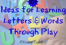 Kid's Learning Activities / Fun learning activities for kids.