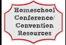 Homeschool Conference/Convention Resources / Links to wonderful #homeschool conferences and convention resources