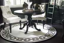 Classic Black and White interiors
