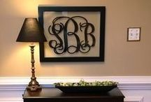 Monogram / by Roxann Burgess